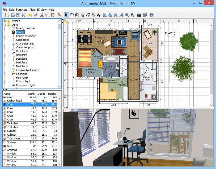Sweet 3d home design software 28 images sweet home 3d Free 3d home design software for pc