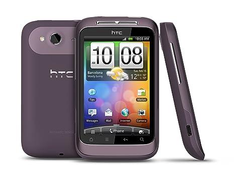 HTC Wildfire S Smartphone débloqué (Ecran: 3.2 pouces) Violet (import Italie)