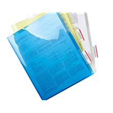 Post-it Tabs with On-the-Go Dispenser, 2-Inch Solid, Red, 25-Tabs/Dispenser, 2-Dispensers/Pack