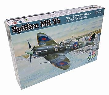 """HobbyBoss Echelle 1: 32modèle """"Spitfire Mk VB Kit (Gris)"""