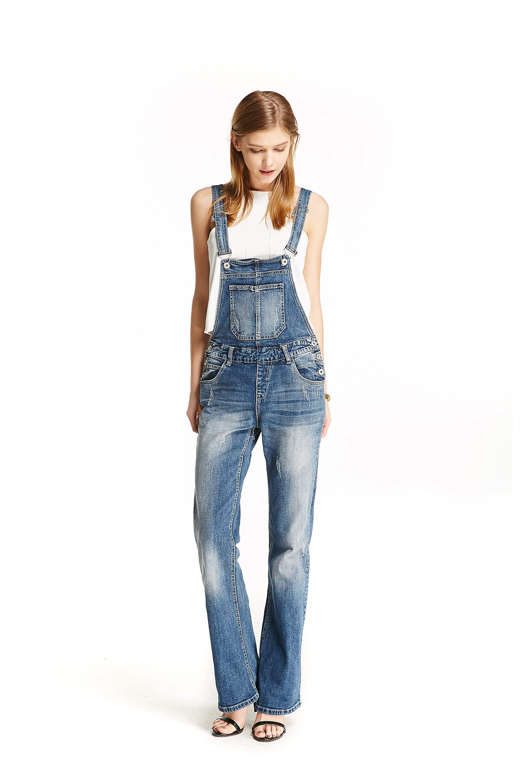 Track Seven Women S Relaxed Fitted Vintage Flare Denim