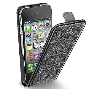 Cellular Line - Funda para iPhone4, color negro - Electrónica Comentarios de clientes y más información