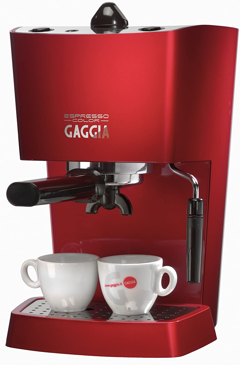 Gaggia Bean To Cup Coffee Maker : Gaggia Espresso Pure Coffee Machine Deep Red - RI8154/80 74841 eBay