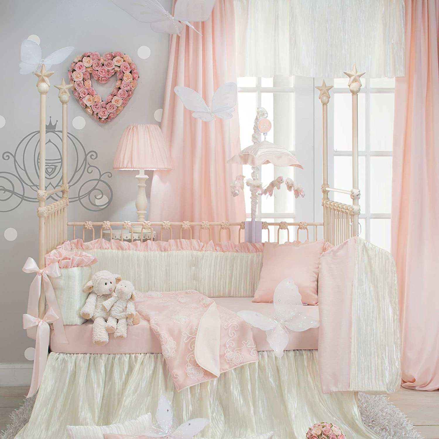 Sweet Potato Lil Princess Crib Bedding