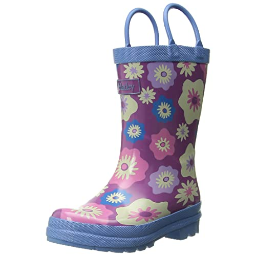 Hatley Girls Rainboots -Graphic Flowers