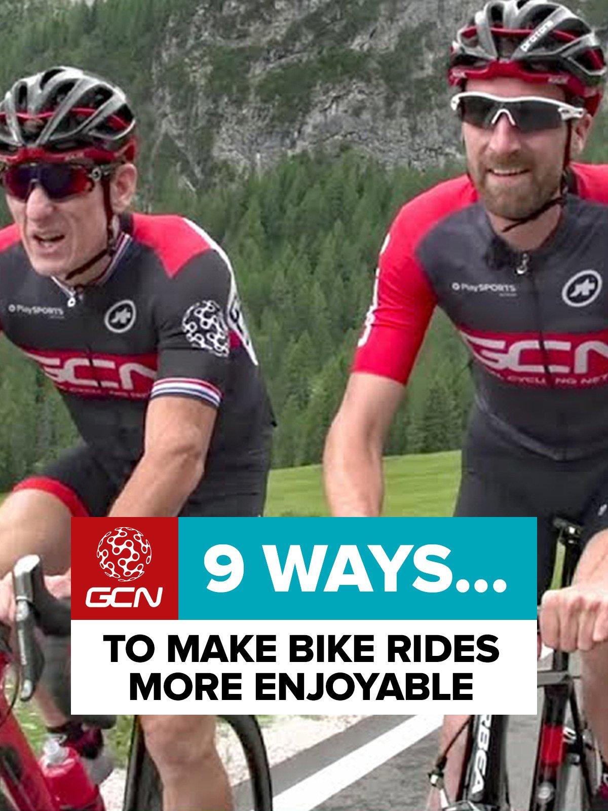 9 Ways To Make Bike Rides More Enjoyable