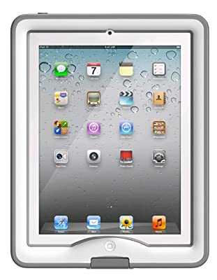 LifeProof nüüd Case & Cover/Stand for iPad Gen 2/3/4 - White / Gray