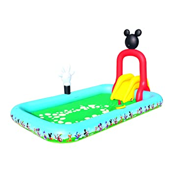 piscine gonflable mickey. Black Bedroom Furniture Sets. Home Design Ideas