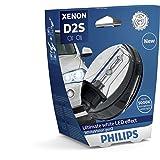 PHILIPS Xenon WhiteVision Gen2 5000K D2S HID Xenon Bulb 85122WHV2S1