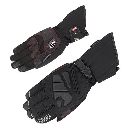 Gants moto Orina cuir/Textile étanche écran tactile stretch