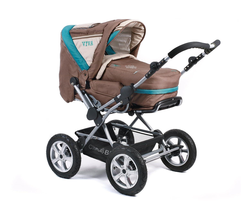 Chic 4 Baby Kombikinderwagen VIVA mit Schwenkschieber