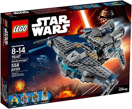 LEGO - 75147 - Star Wars - Jeu de Construction - StarScavenger