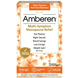 Amberen: Safe Multi-Symptom Menopause Relief. Clinically Shown to Relieve 12 Menopause Symptoms: Hot Flashes, Night Sweats, Mood Swings, Low Energy and More. 1 Month Supply (Tamaño: 1 Month)