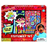 Ryan's World Coloring Art Set for Boys with Stickers (Color: Multi)