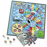 Learning Resources Money Bags Coin Value Game (Color: Multi, Tamaño: 17 x 12 in)