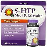 Natrol 5-HTP Mood Enhancer, 100mg, 150 Tablets (Tamaño: 150 Capsules)