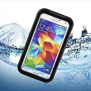 Bingsale Funda impermeable sólo para Samsung Galaxy S5(con una cinta)   revisión y más información