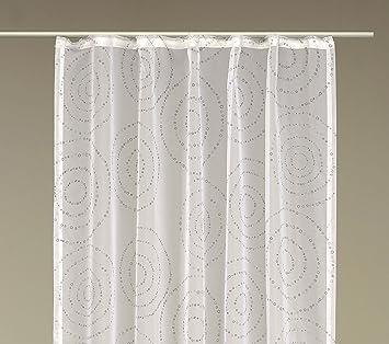 Dekoschal kr uselband vorhang trendig modern finja gardine for Vorhang fa r dreiecksfenster