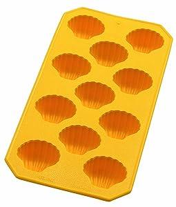 Lékué 0850400A02C049 - Cubitera, 11 cavidades, diseño conchas, color amarillo   Comentarios de clientes y más información