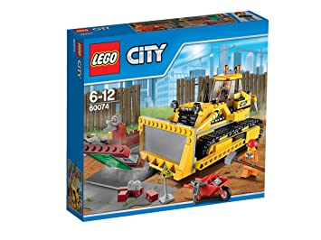 LEGO® City - 60074 - Jeu De Construction - Le Bulldozer