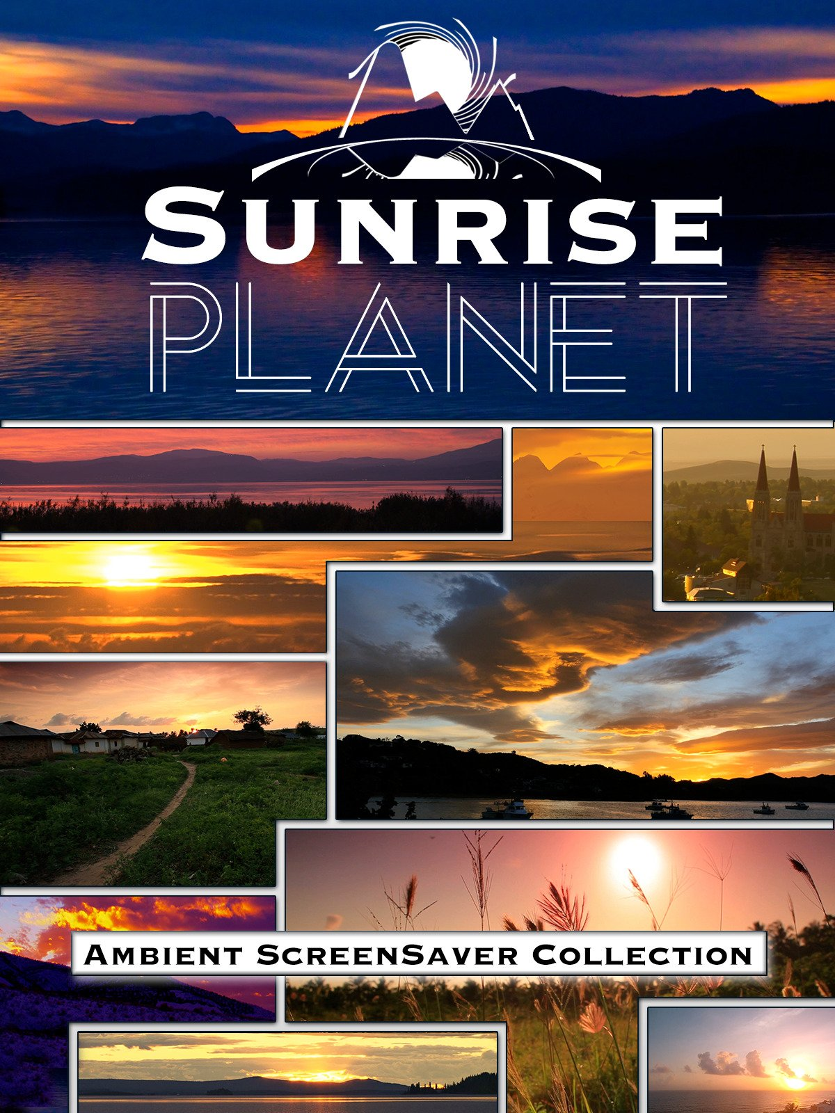 Sunrise Planet: Ambient Screensaver Collection on Amazon Prime Instant Video UK