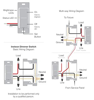 SwitchLinc 2-Wire Dimmer - Insteon Remote Control Dimmer (RF), Light Almond (Color: Light Almond)