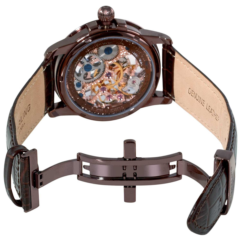 Đồng hồ nam Stuhrling Original Mens 228. 3365K77 Symphony Saturnalia Brumalia