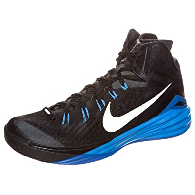 black and blue hyperdunks
