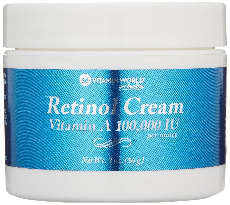 Vitamin World ビタミンワールド レチノールクリーム56g(2oz)【並行輸入品】