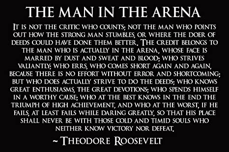 THE IN THE ARENA MAN