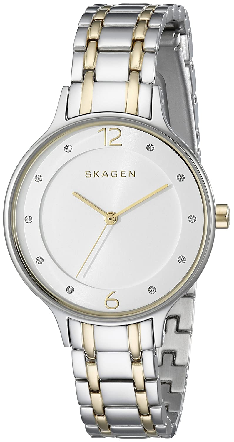 skagen s skw2321 two tone stainless