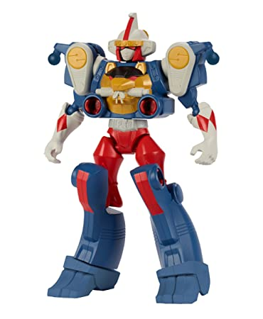 Bandai - 43026 - Power Rangers - Duo pack Mixx'N'Morph - Ranger Mighty Morphin + Zord Singe  - 16 cm - Rouge