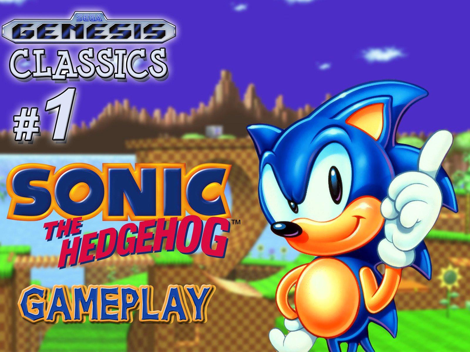 Clip: Sonic the Hedgehog Gameplay (Genesis Classics 1) - Season 1