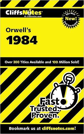 CliffsNotes on Orwell's 1984 written by Gilbert Borman