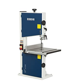Roll over image to zoom in      Rikon 10-305 Bandsaw With Fence, 10-Inch