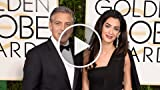 Amal & George Clooney Are Everything at Golden Globes