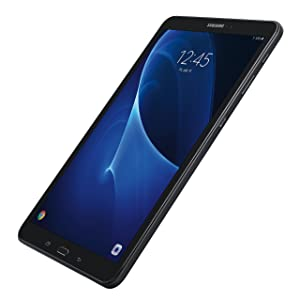 Samsung Galaxy Tab A 10.1; 16 GB WiFi Tablet (Black) SM-T580NZKAXAR with Samsung 128GB 100MB/s (U3) MicroSDXC EVO Select Memory Card with Full-Size Adapter (MB-ME128GA/AM) Bundle (Color: Black)