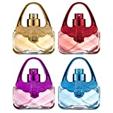 Eau De Fragrance Perfume Sets for Girls- Perfect Body Mist Gift Set for Teens and Kids - Purses - 4 Pack (Tamaño: Pack of 1)