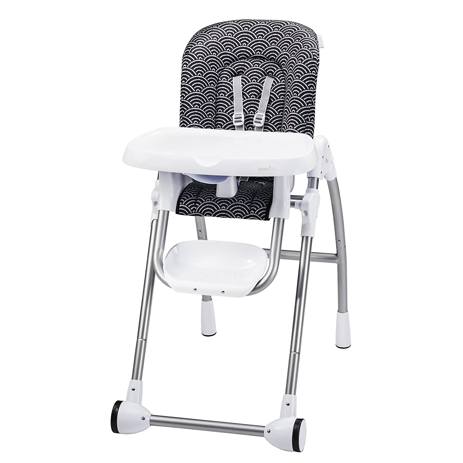 Evenflo Modern Kitchen  High Chair Crayon Scribbles