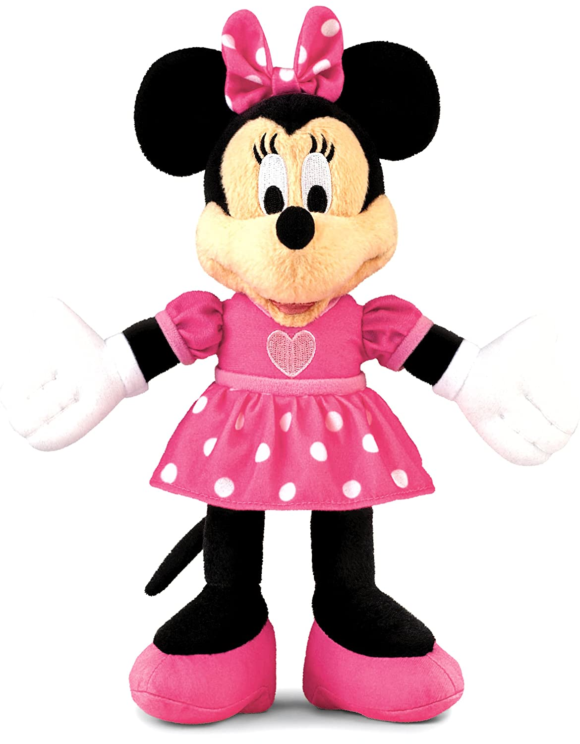 Minnie Mouse Toys : Disney minnie mouse soft plush doll toddler toy girl kid