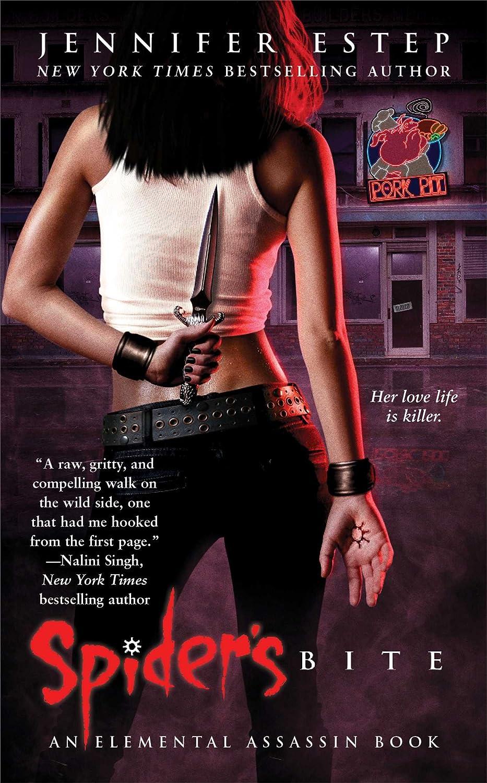 Spider's Bite: Elemental Assassin, Book 1  - Jennifer Estep