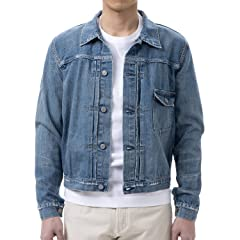 Remi Relief Denim 1st Jacket RN16189018: Used Blue