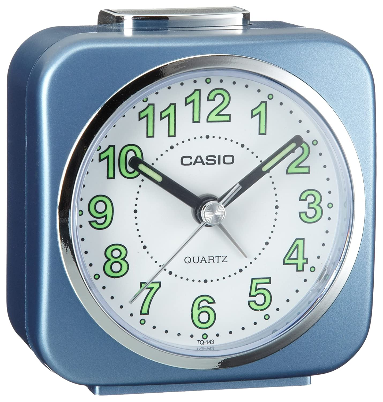 Casio TQ-143-2EF Beeper Alarm Clock casio tq 143 2e
