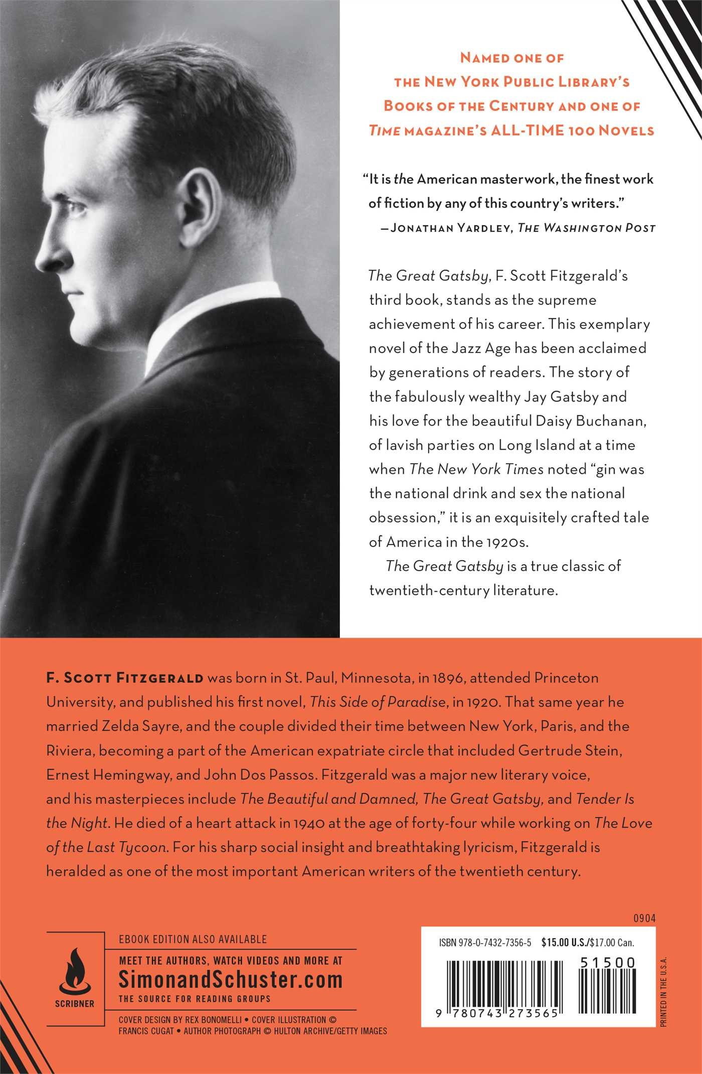 an analysis of the 1920s social and financial status in the great gatsby by f scott fitzgerald