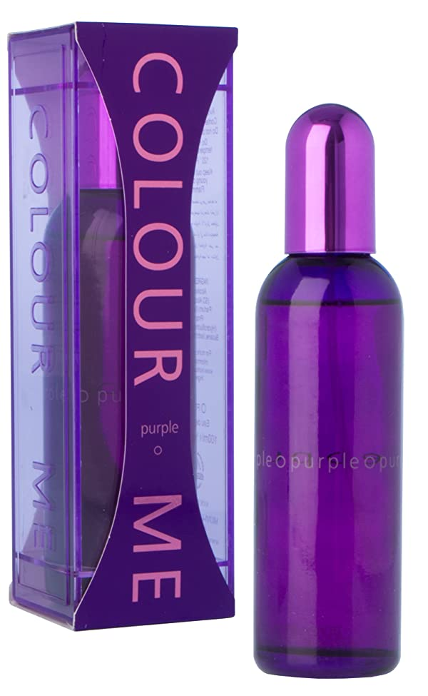 Colour Me Eau de Parfum Spray, Purple, 3.4 Fluid Ounce (Color: Purple, Tamaño: 3 Fl Oz)