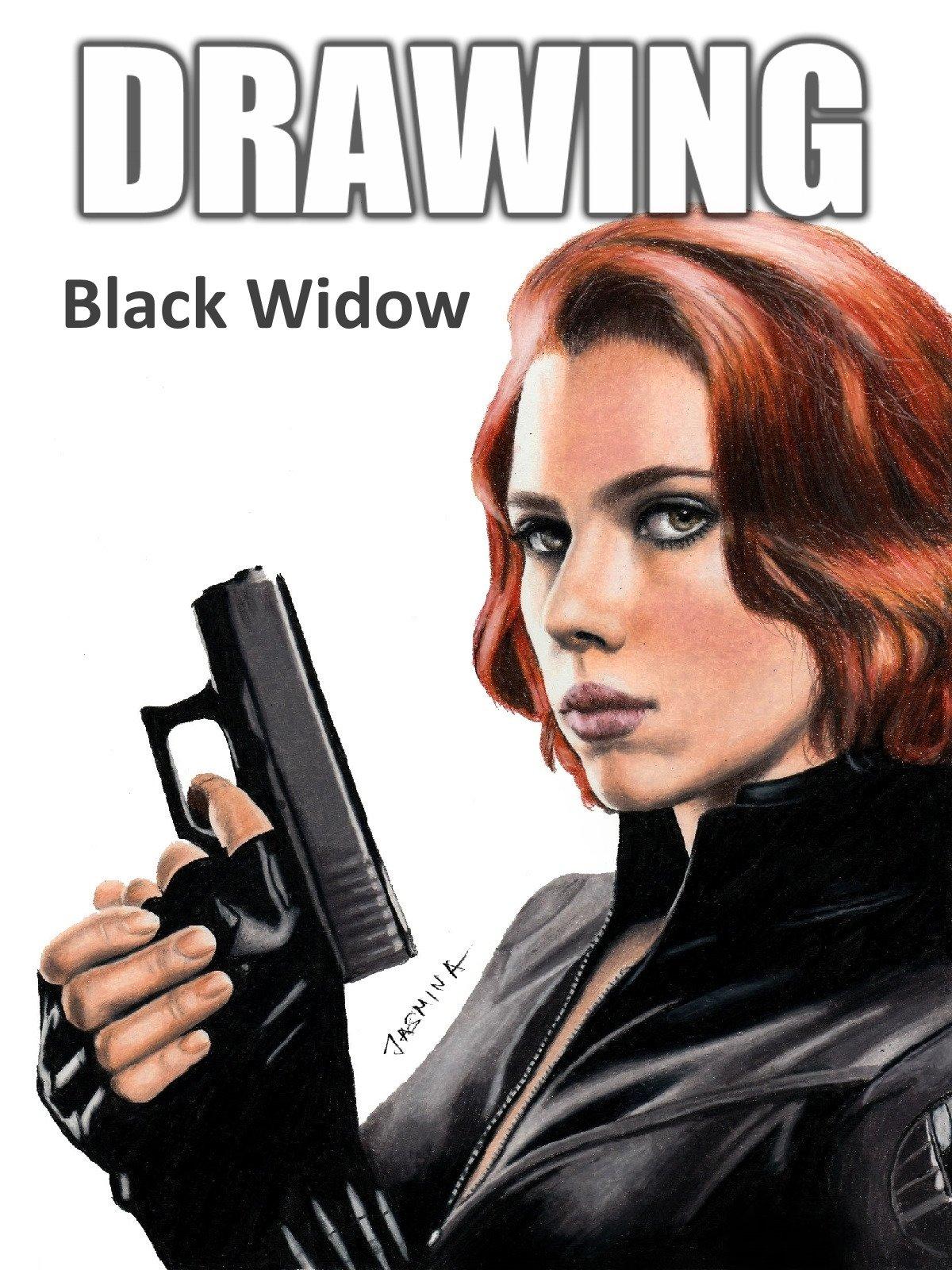 Clip: Drawing Black Widow