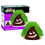 Chia Pet Emoji Poopy, Decorative Pottery Planter, Easy to Do and Fun to Grow, Novelty Gift, Perfect for Any Occasion
