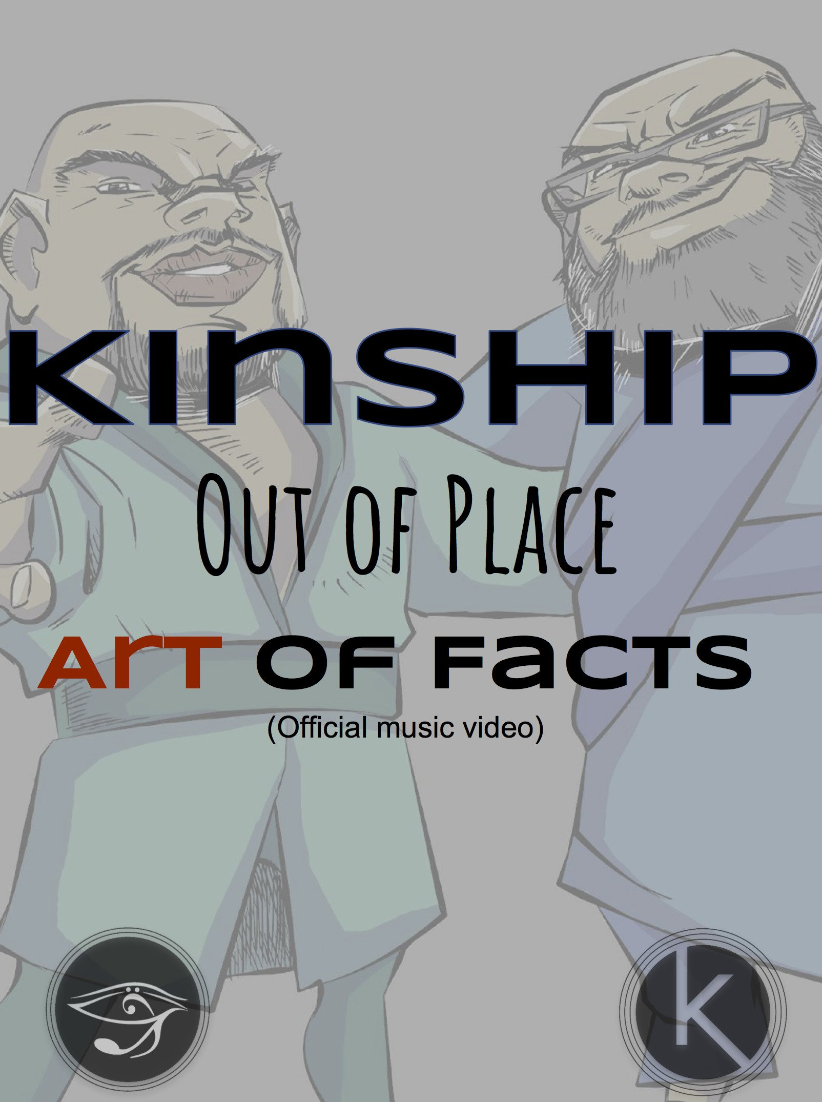 Kinship - Out of Place Art of Facts (Official Music Video)