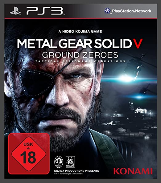 Metal Gear Solid V: Ground Zeroes, PS3