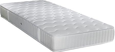 Matratze Simmons Himalaya Tieferlegungsfedern Sensoft Schlafsack elivéa, weiß, 90 x 190 cm